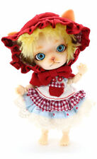 Pang-ju Cherry-pang Groove mini ball jointed doll red riding hood BJD in USA