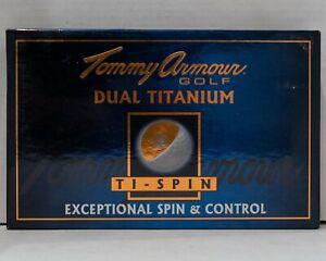 Tommy Armour Double Titane Ti-spin 15 Balles De Golf-afficher Le Titre D'origine