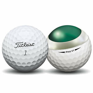 24-Titleist-Pro-V1-2018-Near-Mint-Used-Golf-Balls-AAAA-Free-Shipping