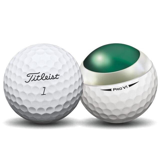 24 Titleist Pro V1 2018 Near Mint Used Golf Balls AAAA - Free Shipping