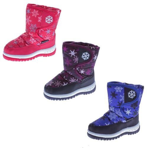 Kinder Stiefel Winter Schnee Schuhe fallen größer aus Jungen Mädchen gefüttert