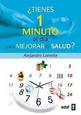 Tienes un minuto al dia para mejorar tu salud? (Spanish Edition)