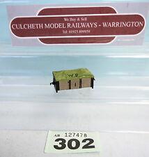 KATO / SCRATCHBUILT 'HOe/009' MOTORISED SHEETED COAL WAGONS UNBOXED #302