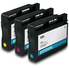 Ink Cartridge 3 pack for HP 933 HP933 OfficeJet 6100 6600 6700 7110 7610