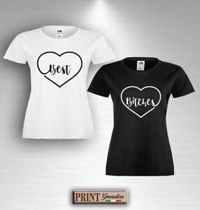 Camiseta-MEJOR-BITCHES-Camiseta-Idea-De-Regalo-Divertido-Par-Novias-Amistad