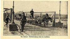 Russisch-Polen * Brückenbewachung durch den Landsturm * Bilddokument 1914
