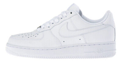 Details about Nib Big Kids Size 5 NIKE AIR FORCE 1 Low Top Basketball Shoes White 314192 117