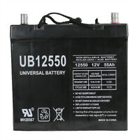 Upg 12v 55ah 45825 Battery Scooter Wheelchair Mobility Deep Cycle on Sale