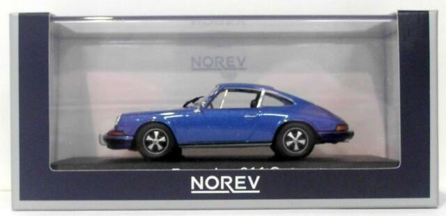 Norev 1/43 escala 750055 Porsche 911 S24 1973 Azul Metálico
