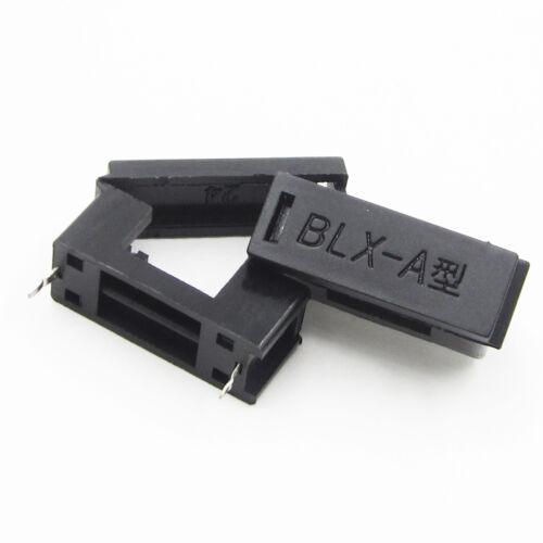 10PCS BLX-A type PCB Mount FUSE HOLDER 5MM X 20MM 15A//125v SOLDER HOLDERS