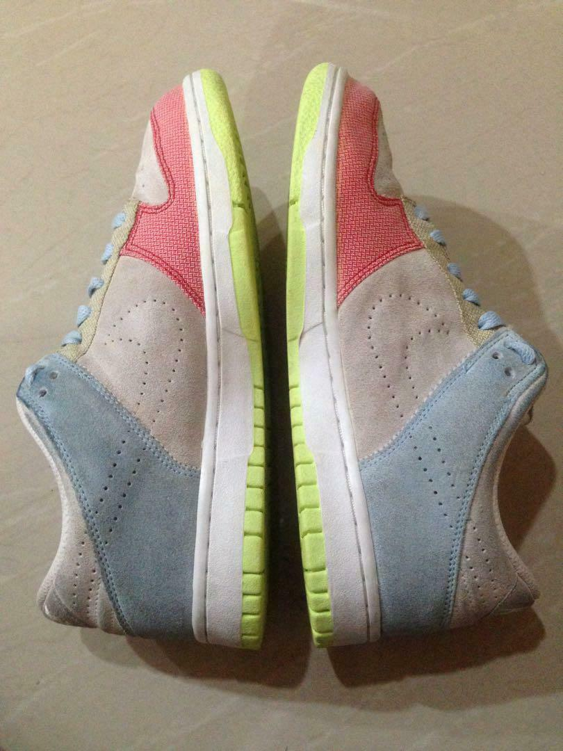 damen Nike Dunk Low Neu 345020-111 Gr 38 Vandal Force Jordan retro suede