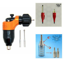 Combination Cartridge Rotary Tattoo Gun With Cartridge Grip Plus RCA Line Supply