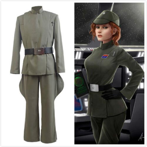 Men/'s Women/'s Star Wars Imperial Officer Uniform Halloween Cosplay Costume A.108