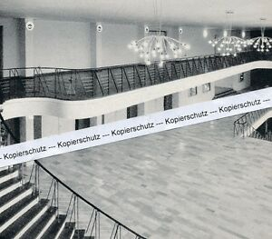 Göppingen - Die neue Stadthalle Foyer - um 1955 oder früher ?