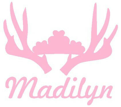 Baby Room Wall Decor M2M Pink Camo Realtree Baby Nursery Princess Personalized