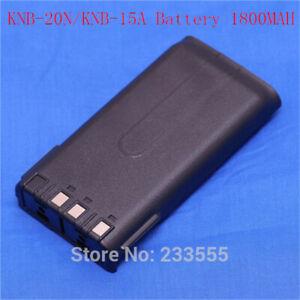 10caafa3f 2pcs Battery KNB-15A for Radio Walkie Talkie TK2100 TK2107 TK3100 ...