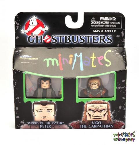 Ghostbusters Minimates TRU Wave 3 World of Psychic Peter /& Vigo the Carpathian