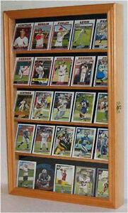 Details About Football Baseball Basketball Hockey Card Display Case Wall Frame Cc01