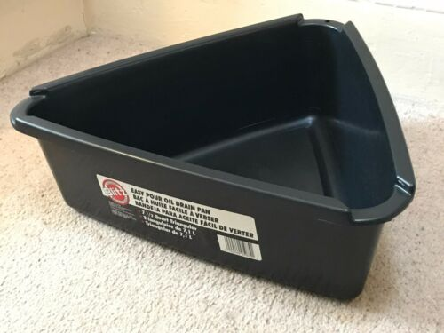 MADE IN USA ANTIFREEZE DRAIN PAN BLITZ EASY POUR OIL TRAY 7 1//2 QT 7.1 L