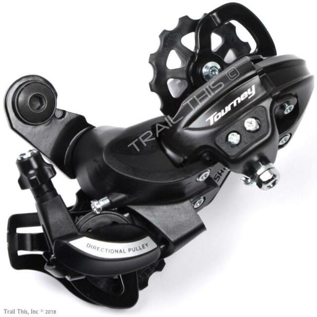 Shimano Tourney RD-TY21 Mountain Bike Rear Derailleur 6//7 Speed With Hanger