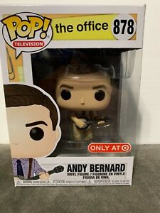 Funko Pop The Office Andy Bernard with Banjo Target Exclusive