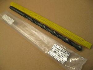Hayden 7//8 Core Drill Bit HSS USA 18 OAL 4 Flute Taper Shank