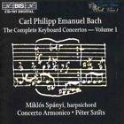 Carl Philipp Emanuel Bach Keyboard Concertos Vol 1 Szuts Concerto Armonico