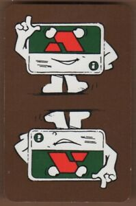 Playing-Cards-Single-Card-Old-ACCESS-CREDIT-CARD-Advertising-Art-Design-Banking