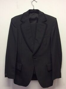 Fab 1960s Austin Reed Black Tie Dinner Suit S Ebay