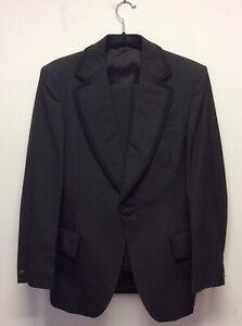 Fab 1960s Austin Reed Black Tie Dinner Suit S Ebay