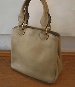 super popular 7e62f 4e5b1 Details zu Goldpfeil Tasche, schöne Vintage Handtasche, Leder beige,  Original 50er Jahre