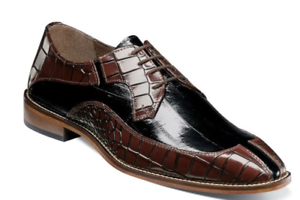 Oxford Shoes Stacy Adams Trimarco Leather Sole Burgundy Multi 25318-641