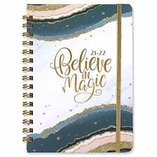 2021 2022 Planner Academic Weekly Monthly Planner With Tabs 63x84 Hardcover