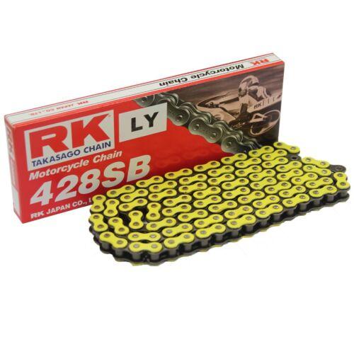 98-99 RK Kettensatz verstärkt Gelb Honda XLR 125 R JD16 Bj