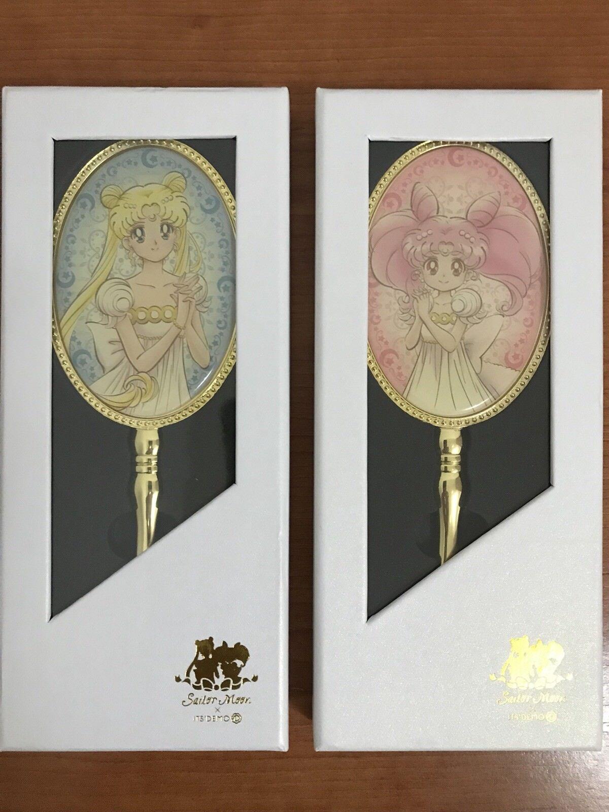 Sailor Moon x ITS' DEMO Princess Serenity & Small Lady Hand Mirror Japan