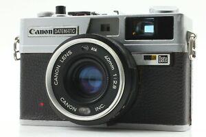 CIA-wuerde-exc-5-Canon-Datematic-Rangefinder-Film-Camera-40mm-f-2-8-aus-Japan-x291