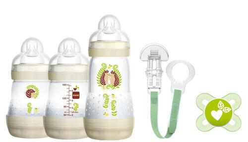 Flaschenset mit Seidensauger Design Africa *NEU* MAM Starterset