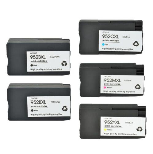 952XL Black Color Ink For HP Officejet Pro 8714 8715 8716 8717 8718 8720 8724