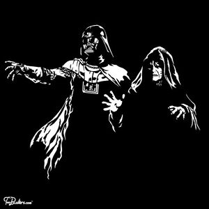 star wars darth vader emperor sith dark side pulp fiction force men