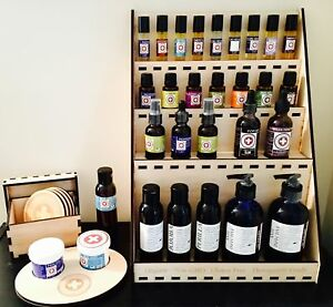 Wooden-Essential-Oil-Display-Case