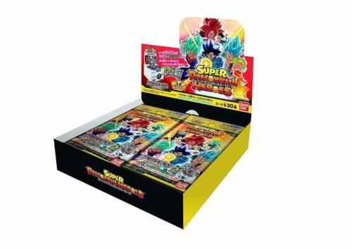 BANDAI Super Dragon Ball Heroes Ultimate Booster Pack BOX Crashing Armor