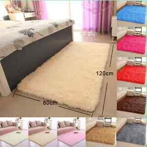 Fluffy-Rugs-Anti-Skid-Shaggy-Area-Rug-Dining-Room-Home-Bedroom-Carpet-Floor-AR