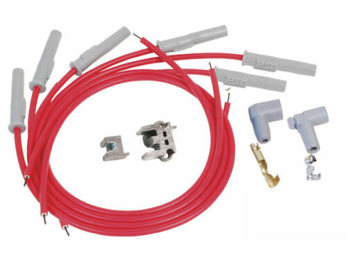 For 1964-1972 Plymouth Barracuda Spark Plug Wire Set MSD 71149YS 1965 1966 1967