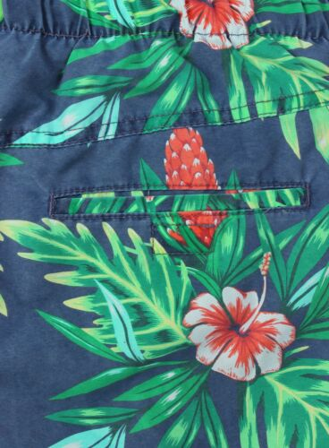 Ex H/&M Mens Floral Print Swimming Shorts Swim Shorts Mesh Lining Size S-XL