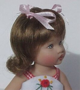 WIG Bella RED Made For Helen Kish Riley Doll DEBs