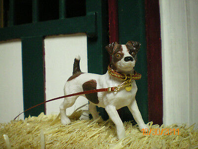 Jaapi RUST//GOLD small dog collar for Breyer Companion Animal NOT FOR REAL DOGS