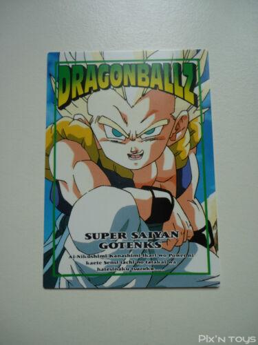 DBZ Card Carte Dragon Ball Z NEW Trading Collection Memorial Photo N°37