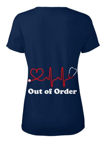 Out Of OrderKrankenschwester Stylisches T-Shirt Damen