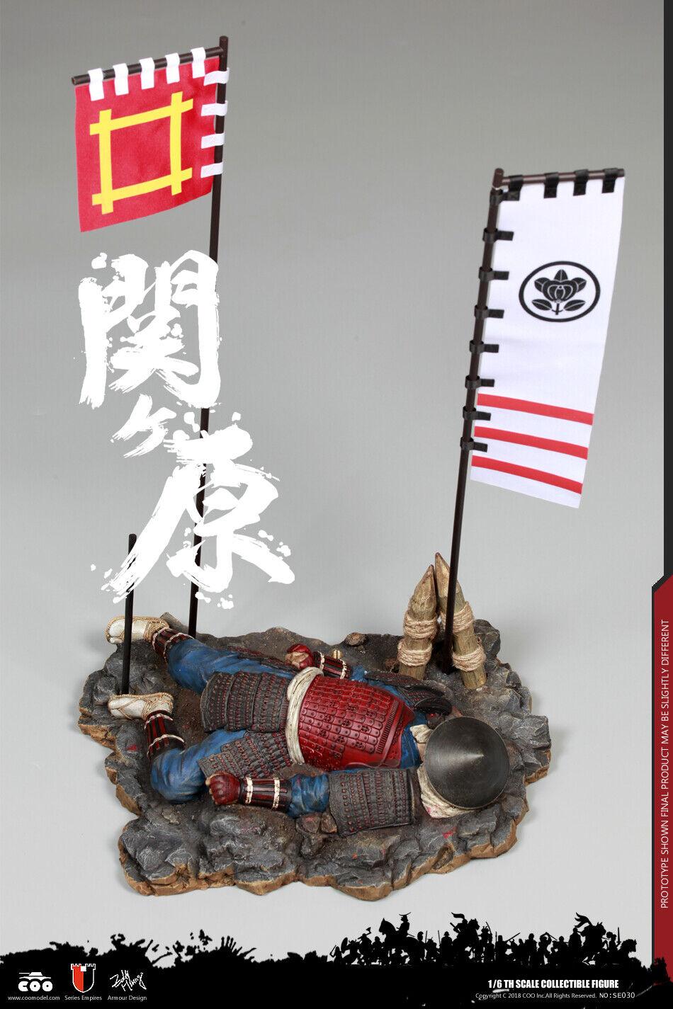 1 6 Japón Sengoku escena plataforma serie de los imperios Sekigahara COOMODEL NO.SE030
