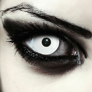 wei e farbige zombie kontaktlinsen mit st rke f r. Black Bedroom Furniture Sets. Home Design Ideas